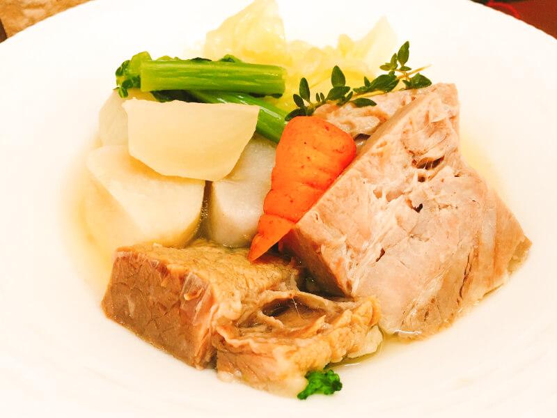 熟成豚と氷見ベジ野菜のポトフ